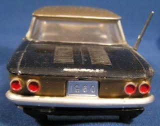 Vintage Built Up 1960 Chevrolet Corvair AMT Model Car Kit