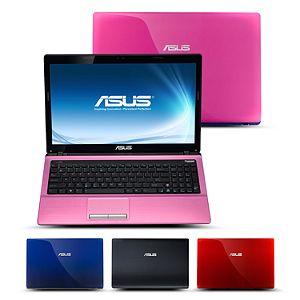 ASUS X Series Laptop Intel Core i3 2310M, 500GB, 15.6   Pink