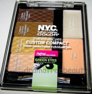Color NYC IndividualEyes GREEN EYES Palette CENTRAL PARK 940 Sealed