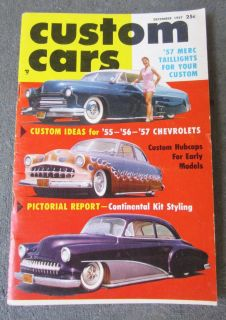 Custom Cars Magazine Dec 1957 Hot Rod Kustom Flathead Custom Ideas 55