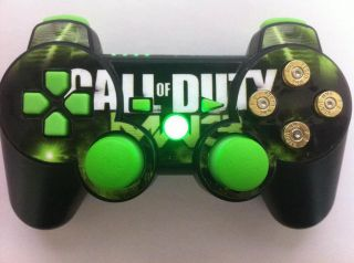 Custom Ordered Modded PS3 Controller from £45 Rapid Fire Bullets LEDs