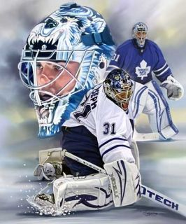 Curtis Joseph Giclee Print on Canvas B 0814