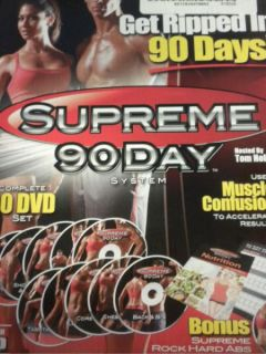 System HD 10 DVD Set Insane ABS Workout Fitness as Seen on TV