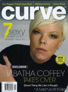 Curve Mag Tabatha Coffey Melissa Ferrick September 2011 Vickie Shaw