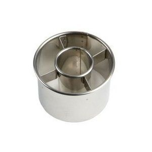 Ateco 3 1 2 inch Stainless Steel Doughnut Cutter New New