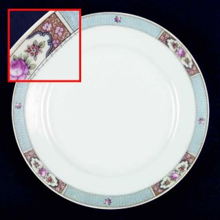 manufacturer crown china czech pattern cwx1 piece dinner plate size 9