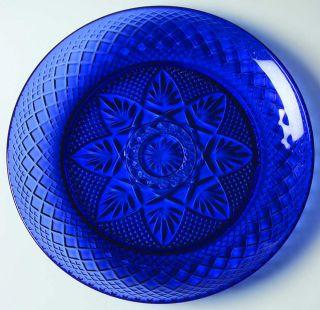Cris DArques Antique Sapphire Blue Salad Plate 2048642