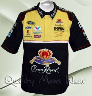 Crown Royal Jamie Mcmurray Medium Pit Crew Shirt JH Design 99