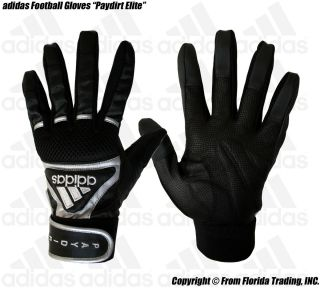 Adidas Football Lineman Gloves Paydirt Elite M Black