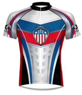 Primal Wear Military Glory USA Cycling Jersey Men Bike Speedpro Sport