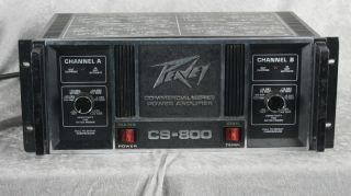 Peavey CS 800 Commercial Series Power Amplifier Amp