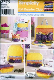 Simplicity Sewing Pattern 3776 for Serger Cover Sewing Machine Cover