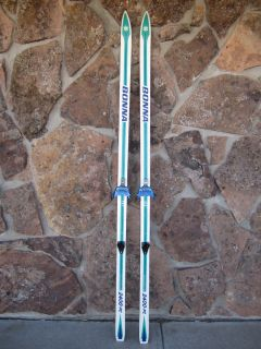 Bonna 2400 PC Cross Country Skis with 3 Pin Bindings 200cm