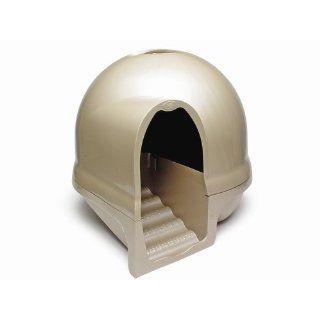 Booda Dome Cleanstep Cat Litter Box Titanium Brand New