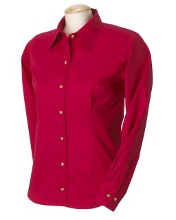Devon Jones Classic Ladies Five Star Performance Twill Shirt D555W
