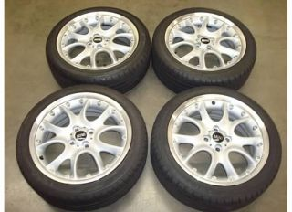 17 Mini Cooper S FACTORY Wheels RIMS TIRES OEM 59529 Web Spoke R98