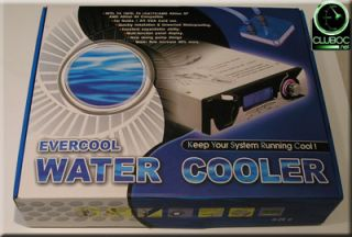 EverCool WC202 Desktop Computer Liquid Water Cooling System