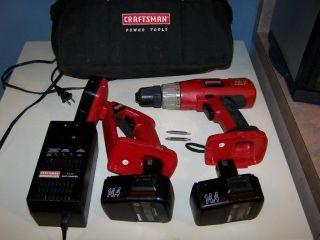 Craftsman 14 4 Volt Cordless Drill Kit