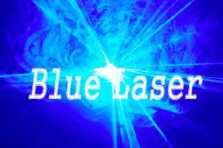 New 300mW Blue DJ Laser Stage Lighting Light Disco Club