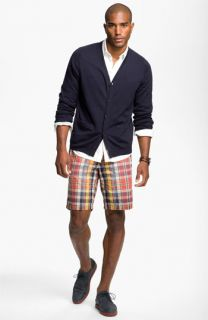 Cardigan, Wallin & Bros. Sport Shirt, & Tommy Bahama Shorts