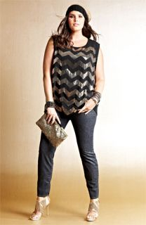 Vince Camuto Blouse & Lucky Brand Jeans