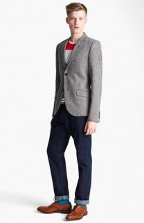 Topman Blazer, T Shirt & Slim Fit Jeans