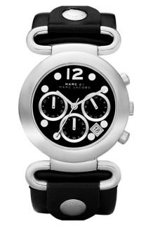 MARC BY MARC JACOBS Molly Chrono Leather Strap Watch