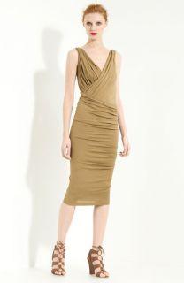 Donna Karan Collection Twisted & Draped Jersey Dress