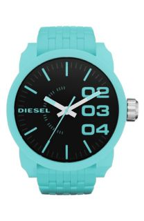DIESEL® Extra Large Round Plastic Bracelet Watch