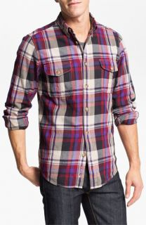 Ben Sherman Clerkenwell Plaid Flannel Shirt