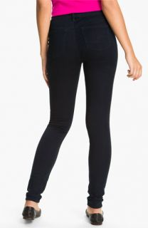 Silver Jeans Co. Ashley Skinny Jeans (Dark Blue) (Juniors)