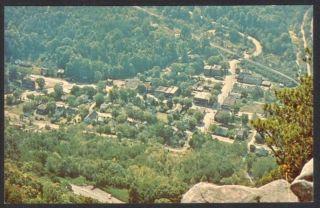 Cumberland Gap TN Vintage Birds Eye View Postcard