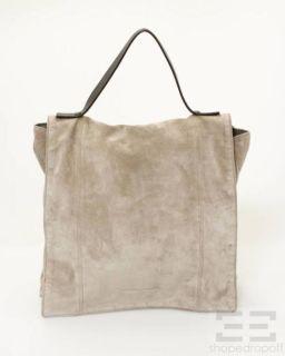 brunello cuccinelli light brown suede flap handbag