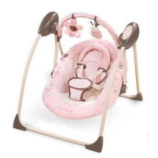 Summer Infant Carters Love Bug Swing PINK NEW