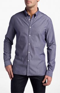 John Varvatos Star USA Mini Check Slim Fit Shirt