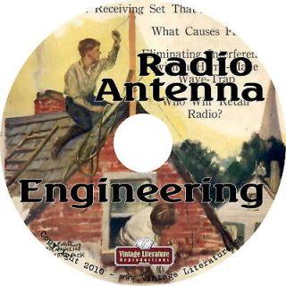 Radio Antenna Engineering   Ham Radio {1952} on CD