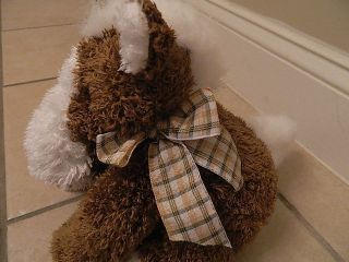 Dan Dee Collectors Choice Stuffed Animal Horse Brown and White