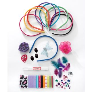 Creativity for Kids Fashion Headbands Activity Girls Toy Craft Kit