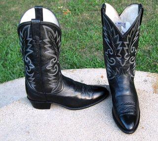 Dan Post Cowboy Western Boots Mens 9 5D Nice