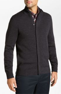 Façonnable Classique Fit Merino Wool Cardigan