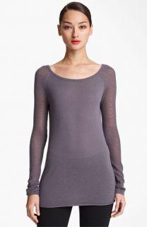 Donna Karan Collection Cashmere Mesh Top