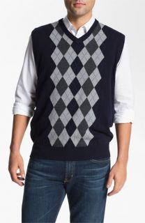 Toscano V Neck Wool Blend Sweater Vest