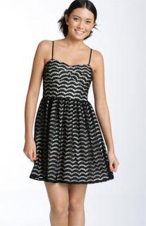 As U Wish Lace Corset Dress (Juniors)