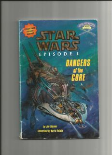 Star Wars Episode I Dangers of The Core $5 s H Total Book Order