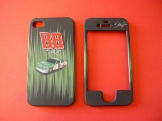 Dale Earnhardt Jr Apple iPhone 4 4G 4S Cell Phone Faceplate Case Cover