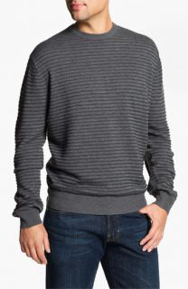 Toscano Merino Wool Blend Crewneck Sweater