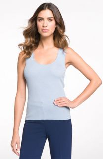 St. John Collection Ultrafine Ribbed Tank