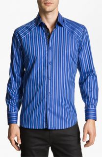 Stone Rose Stripe Woven Shirt