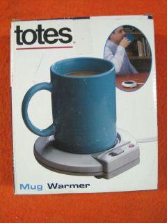 Totes Desktop Mug Cup Coffee Warmer Heater New in Box