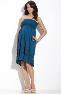 Japanese Weekend Maternity Voile Dress